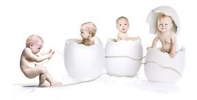 ciąża,ciąża bliźniacza, dzieci, genetyka,