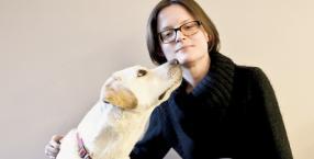 pies, labrador, głuchota, niepełnosprawność, pies asystujący, Joanna Derda, pies przewodnik