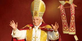 Benedykt XVI, moda