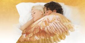 sen, miłość, spanie, przytulanie
