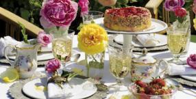 przepisy, wino, lato, kuchnia, przepis, ciasto, chłodnik, tarta, mus, cielęcina, róże