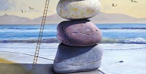 kamień, amulet, skała, fundament, symbol, talizman, przedmiot, rozwój, postęp