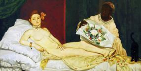 Édouard Manet, malarz, impresjonizm, impresjoniści, Victorine Meurent, Olimpia