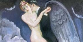 obraz, sztuka, historia jednego obrazu, Kees van Dongen, belle epoque, fowizm, Tango anioła