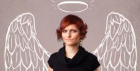 Lekcja lepienia anioła