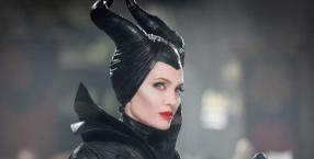"""Angelina Jolie jako Diabolina w filmie """"Czarownica"""""""