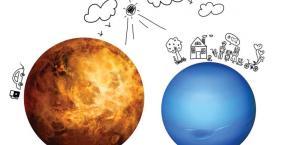 Wenus, planety, miłość, związek, związki, gwiazdy, kobieta i mężczyzna, toksyczne relacje, toksyczne związki, Neptun