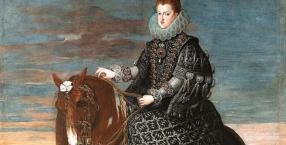malarz, sztuka, obrazy, królowa, perła, La Peregrina, Elizabeth Taylor, Diego Velázquez, Filip III