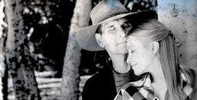 Hollywood, miłość, kobieta i mężczyzna, Patrick Swayze, niezwykłe pary, Lisa i Patrick Swayze, Lisa Niemi-Swayze