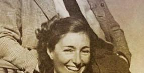 Krystyna Skarbek z Andrzejem Kowerskim w Syrii. Byli partnerami zarówno w szpiegowskich misjach, jak i w życiu.