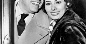 Sophia Loren i Carlo Ponti