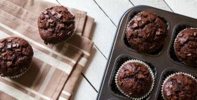 Muffinki: czekoladowe i wegańskie