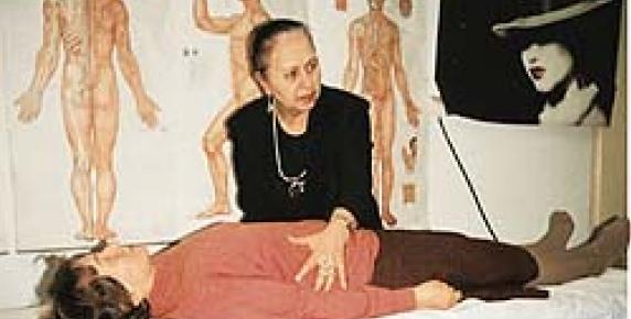 Walentyna Sazontiewa leczy