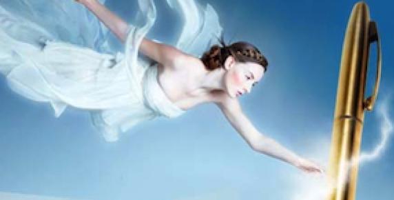 Pod dyktando anioła