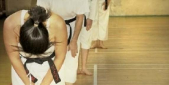 Karate ducha