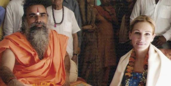 Spotkanie Julii Roberts z guru Swami Dharam Dev