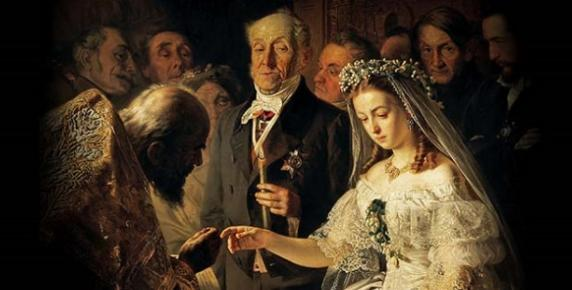 Vasily Pukirev, The Unequal Marriage, 1862