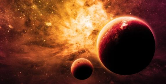 Kiedy Pluton napiera na Marsa
